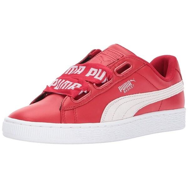 6f70544e528b Shop PUMA Women s Basket Heart DE Wn Sneaker - Free Shipping Today ...