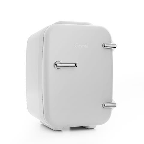 Caynel 4-Liter Portable Mini Fridge for Home, Office and Car, AC/DC Thermoelectric System