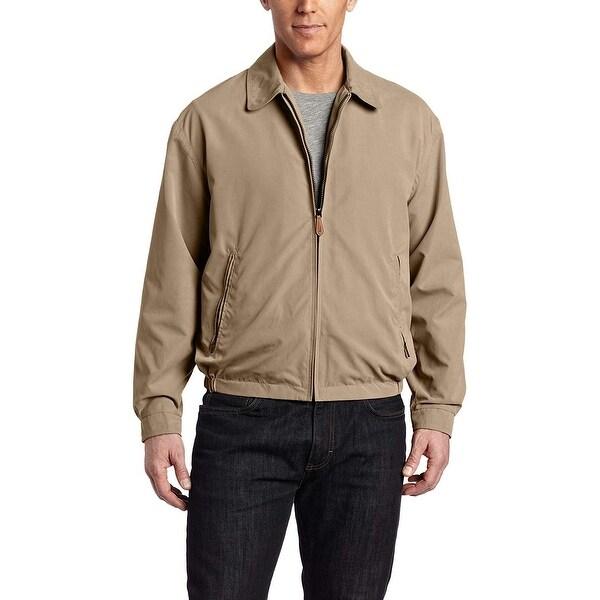 Shop London Fog Beige Mens Size 2xl Auburn Pockets Full