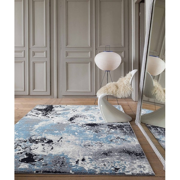 Sofia Abstract Polypropylene Area Rug. Opens flyout.