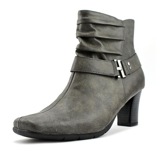 A2 By Aerosoles Common Ground Women  Square Toe Synthetic Gray Ankle Boot