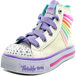 Skechers Wander Wings Youth Round Toe Synthetic Multi Color Sneakers