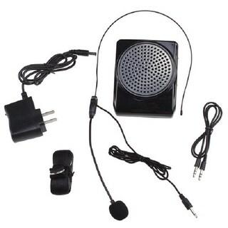 Loud Portable Voice Amplifier LoudSpeaker Microphone for Teachers, Coaches, Tour Guides, Presentations, Salesman, Etc