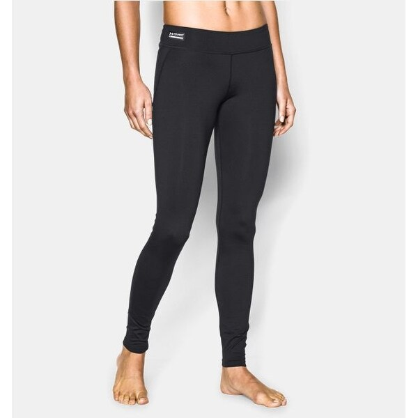 9fc8bcc7dcaf1 Under Armour Women's ColdGear Infrared Tactical Leggings Black Medium