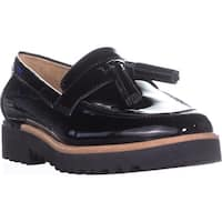 Franco Sarto Carolynn Flat Loafers, Black