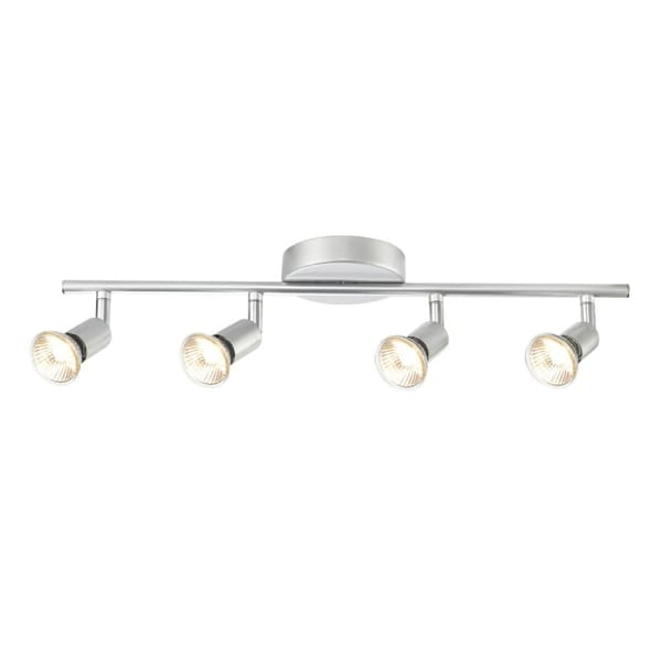 Globe Electric 58932 4 Light Adjustable Track Lighting Kit