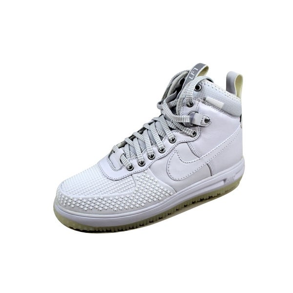 Nike Men's Lunar Force 1 Duckboot White/White 805899-101