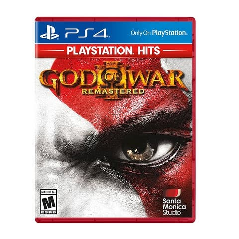 God of War 3 Remastered Greatest Hits for Playstation 4 - Multicolor