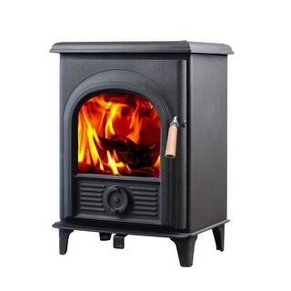 HiFlame Shetland HF905U 800 Sq.Feet Small Wood Burning Stove