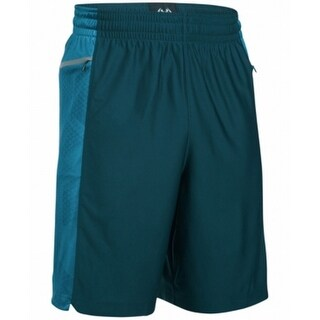 Under Armour NEW Green Mens Large L Loose-Fit Moisture Wicking Shorts