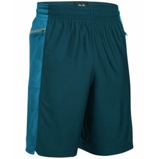 Under Armour NEW Green Mens Size Medium M Loose-Fit Wicking Shorts