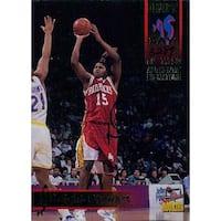 Signed Stewart Dwight Arkansas Razorbacks Limited Edition 7750 1995 Signature Rookies Basketball Ca
