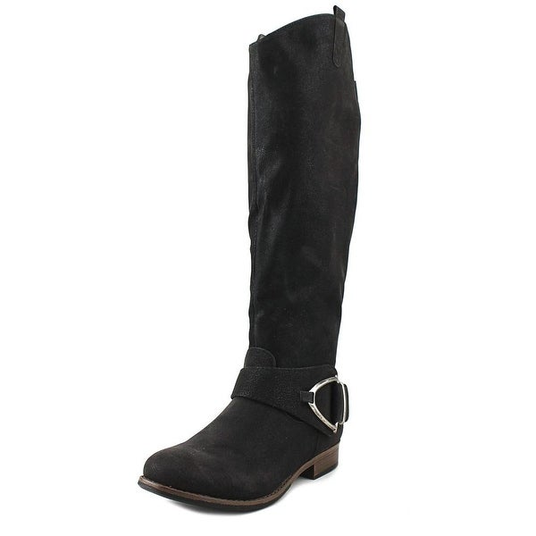 6c920c7b568d Shop Crown Vintage Bella Wide Calf Black Boots - Free Shipping Today ...