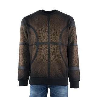 Givenchy Mens Basketball Print Pure Cotton Sweatshirt