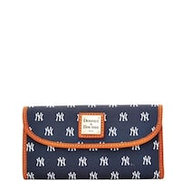 Dooney & Bourke MLB New York Yankees Continental Clutch Wallet (Introduced by Dooney & Bourke at $128 in Feb 2015)