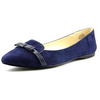 Nine West Saxiphone Pointed Toe Suede Flats