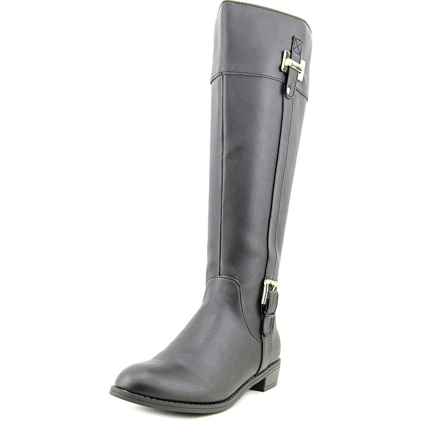 Karen Scott Deliee Wide Calf Black Boots