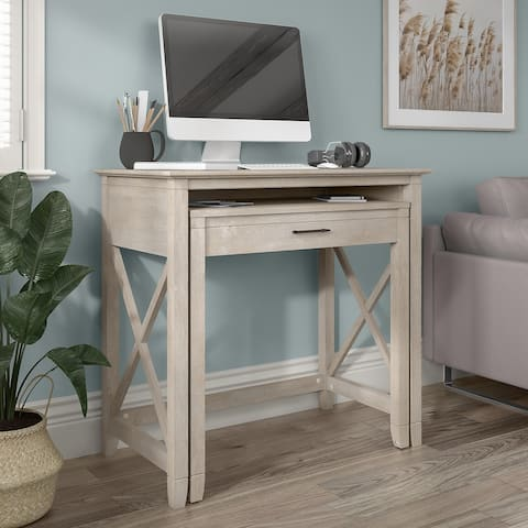Key West 36W Pull Out Writing Desk by Bush Furniture