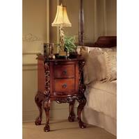 Design Toscano Chateau Lorraine Bedside Table