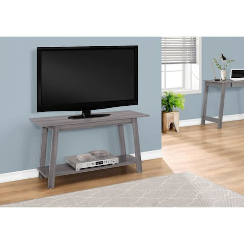 Monarch 2737 Grey 42nch TV Stand