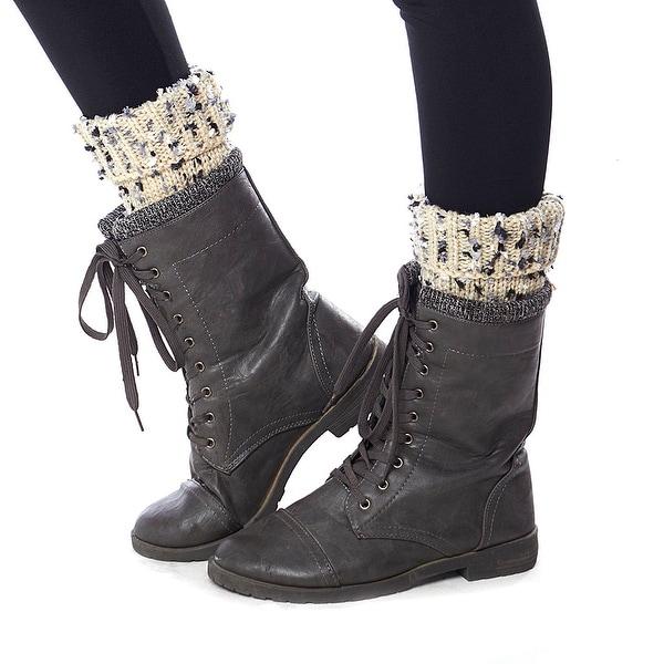 Arctic Ankles Sweater Knit Leg Warmer Boot Cuffs