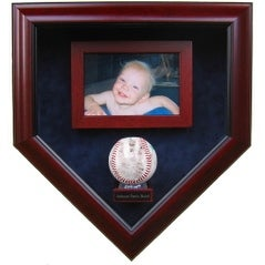 Babys First Autograph with 4x6 Picture Display Case