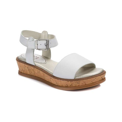 Lucca Lane Womens Kameron Open Toe Casual Ankle Strap Sandals