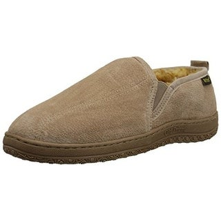 Old Friend Mens Romeo Sheepskin Slip On Loafer Slippers - 16 medium(d)