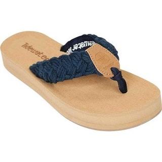2a340b23d00fc Tidewater Sandals Women s Nantucket Flip Flop Navy