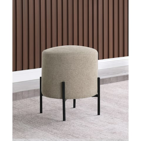 Ballerance Round Upholstered Ottoman