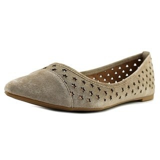Steve Madden Anslee Pointed Toe Leather Flats
