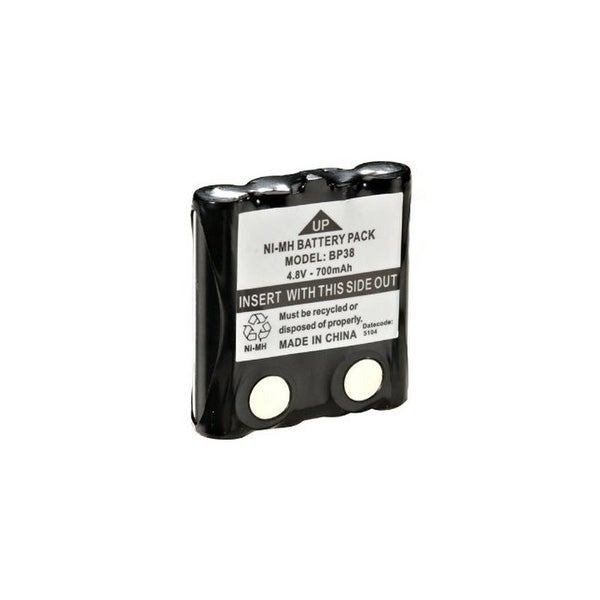 Replacement Nimh Radio Battery For Uniden BP-38 Model GMRS380-2