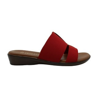 Link to ITALIAN Shoemakers Womens Milla Open Toe Casual Slide Sandals Similar Items in Women's Shoes