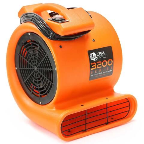 Industrial 2-Speed 1/2 HP Blower Fan - Orange by CFM PRO - Medium