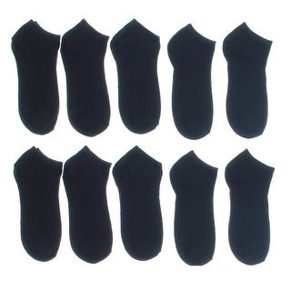 Modern Heritage Womens 10Pk Solids Low-Cut Socks - 9-11