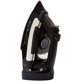 ZZ ES2346RBG Advantage 1400 Watt Steam Iron with Non-Stick Ceramic Soleplate, Black