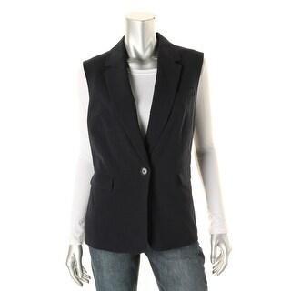 Nine West Womens One-Button Lined Suit Vest - 8