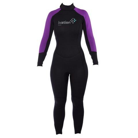 Ivation Women's 2.5mm Premium Neoprene Full Body Wetsuit