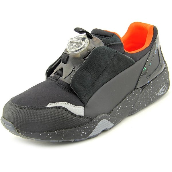 Alexander McQueen By Puma MCQ Disc Men's Black Round Toe Synthetic Black Sneakers