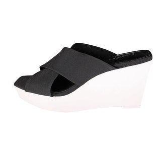 Calvin Klein Women Shyna Wedge Slide Sandals
