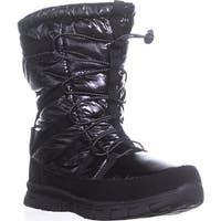Khombu Altam Waterproof Snow Boots, Black - 10 us