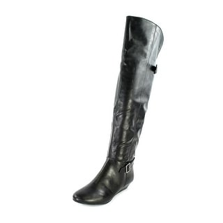 Style & Co Horray Women  Round Toe Synthetic Black Knee High Boot