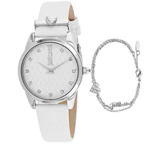 Just Cavalli Women's Vale Silver Dial Watch - JC1L010L0515 - One Size