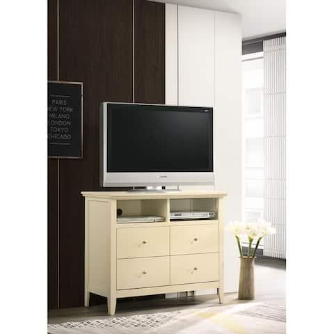 Hammond 4-drawer Wooden Media Chest