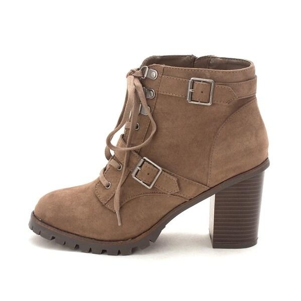 DV8 by Dolce Vita Womens Larel Almond Toe Ankle Fashion Boots - 10