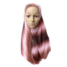 Muslim Kerchief Scarf Hat Zircon Printing 7