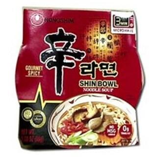 Nong Shim Shin Noodle Soup Bowl - 3.03 Ounce