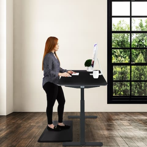 AIRLIFT S3 Black 51-inch Adjustable-height Electric Standing Desk