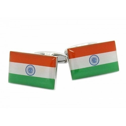 India Flag Indian Cufflinks