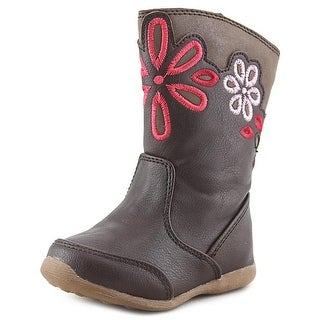 Stride Rite Lilianna Toddler W Round Toe Synthetic Brown Knee High Boot